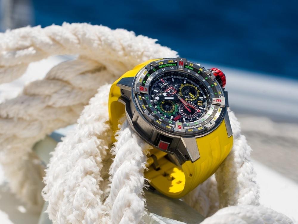 RM 60-01 Regatta Flyback Chronograph và giấc mơ chinh phục đại dương của Richard Mille