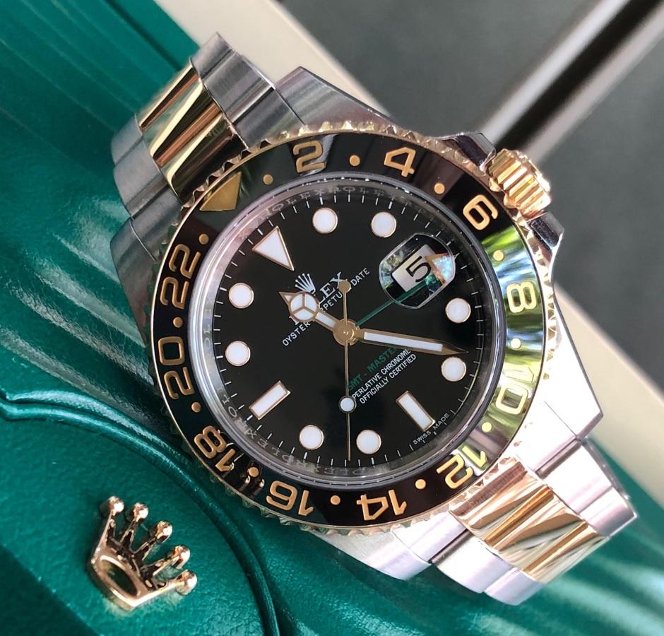 Rolex 116713 GMT sản xuất năm 2017