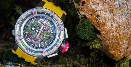 Thu mua đồng hồ Richard Mille RM 60-01 Regatta Flyback Chronograph