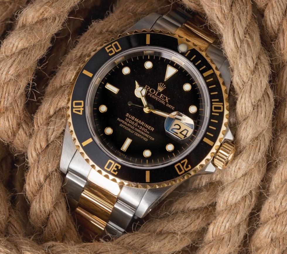 Vỏ đồng hồ Rolex Submariner 16613