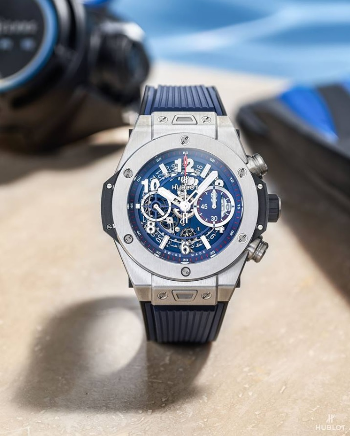 Hublot Big Bang Blue Unico