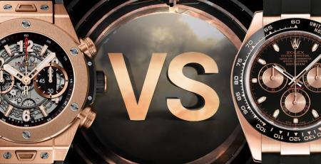 Giữa đồng hồ Rolex và Hublot bạn chọn thương hiệu nào?