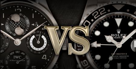 Rolex và IWC thương hiệu nào tốt hơn?