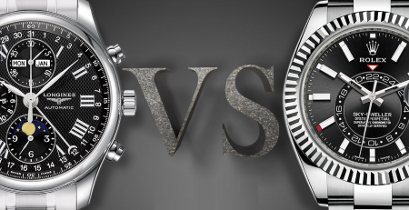 Giữa đồng hồ Rolex và Longines bạn chọn thương hiệu nào