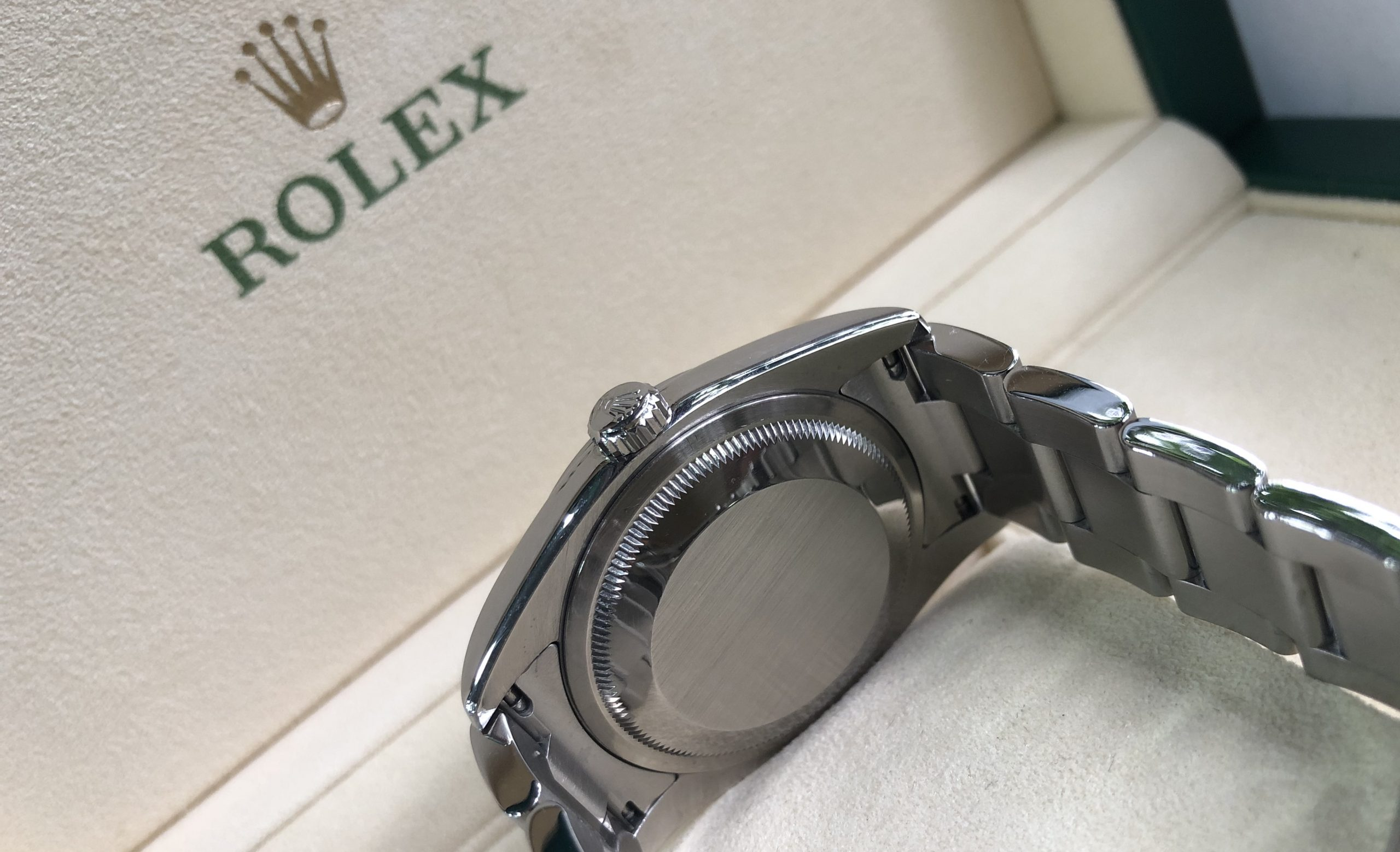 Rolex Datejust Ref.116200 mặt hoa đào đời 2011