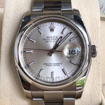 Rolex Datejust Ref.116200 mặt tia hướng tâm đời 2012