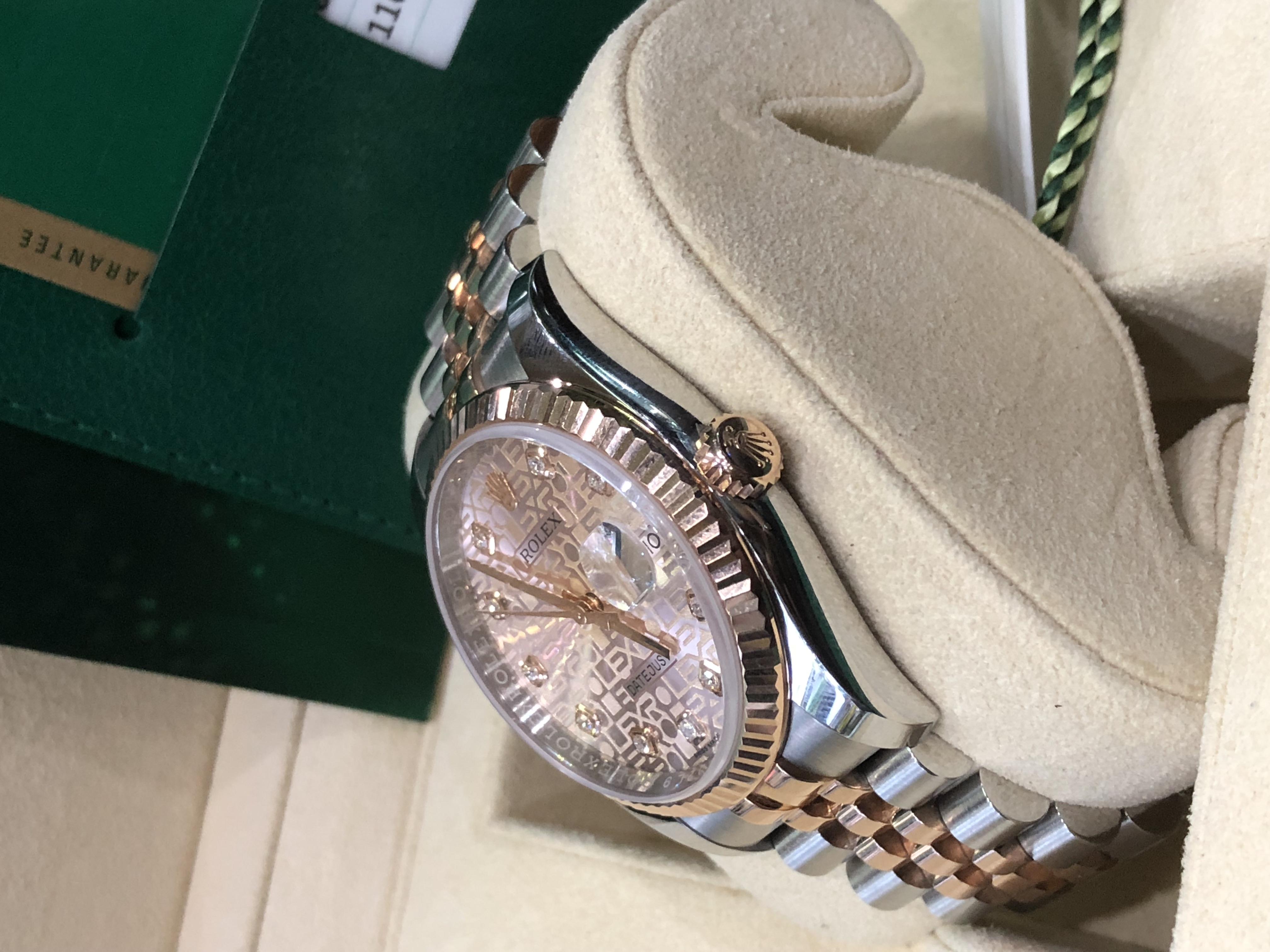 Rolex Datejust Ref.116231 mặt vi tính đời 2017