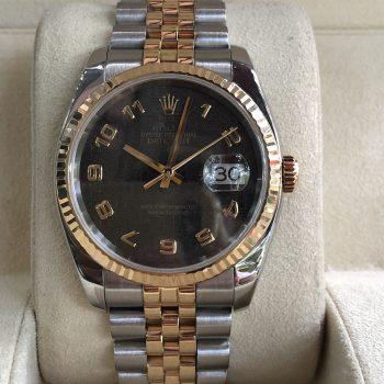 Rolex Datejust Ref.116233 demi vàng 18k đời 2003