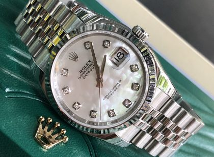 Rolex Datejust Ref.116234 mặt ngọc trai đời 2010
