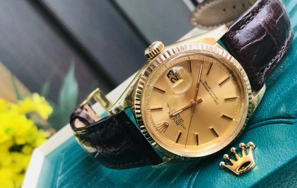 Rolex Datejust Ref.1601 vàng khối 18k đời 1978