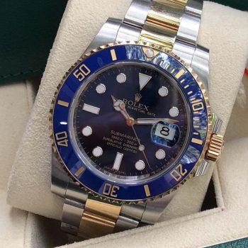 Rolex Submariner116613LB mặt xanh đời 2016