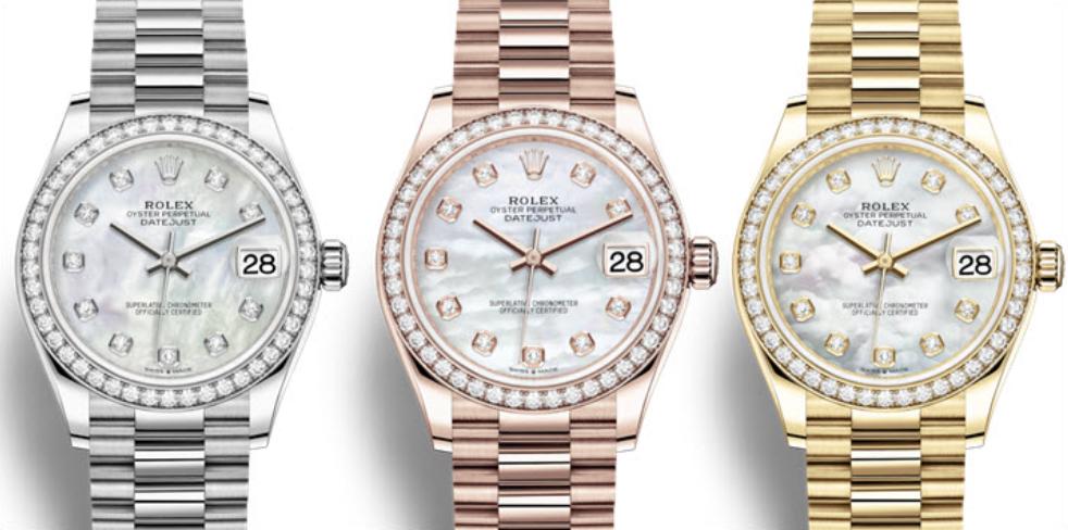 Rolex Datejust 31 Ref. 278289, 278281 và 278288