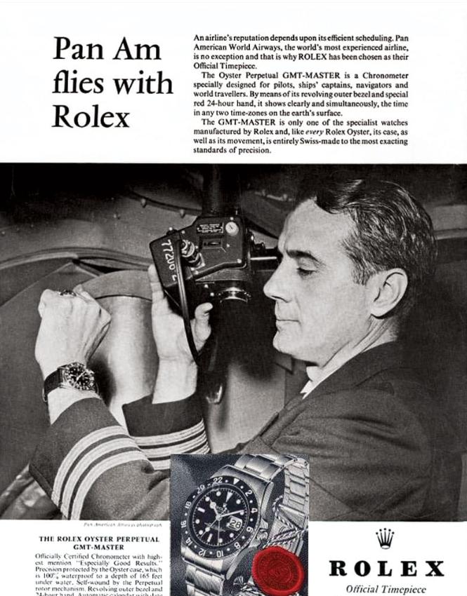 1963 Rolex GMT Master Pan Am