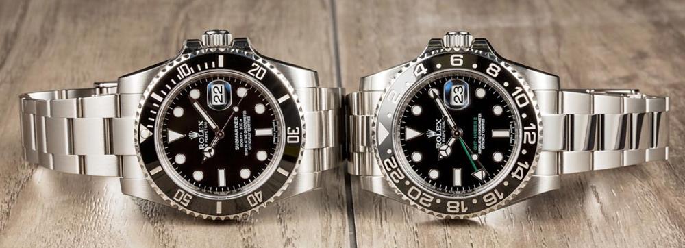 so sánh giữa Submariner và GMT-Master II