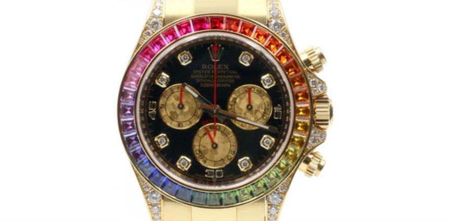 Rolex Daytona 116589 đa màu Sapphire Bezel