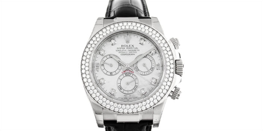 Rolex Daytona 116589 Diamond Bezel & Dial