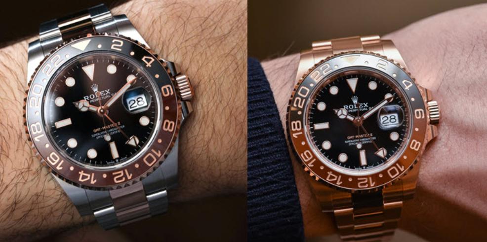 Đồng hồ Rolex GMT-Master II Rose Gold