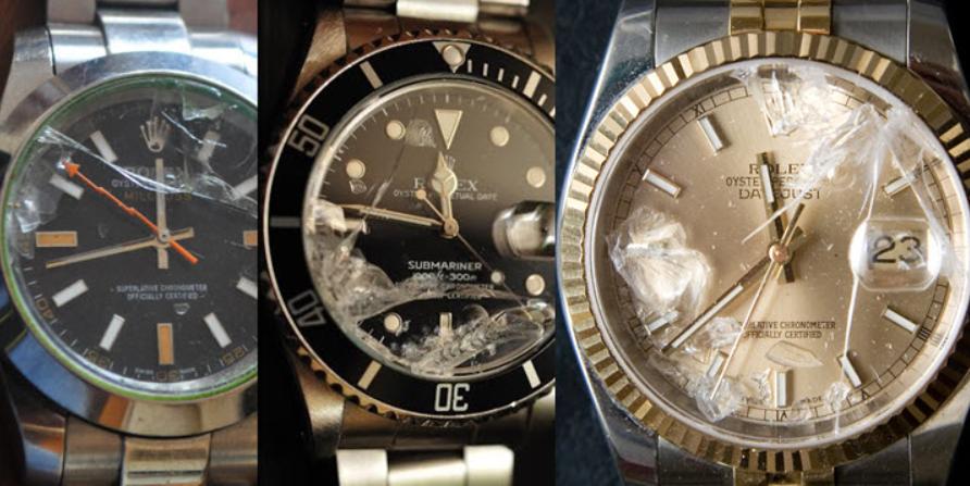 Nơi bán đồng hồ rolex hỏng
