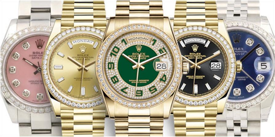 Đồng hồ Rolex Ladies Bezels đầy đủ kim cương