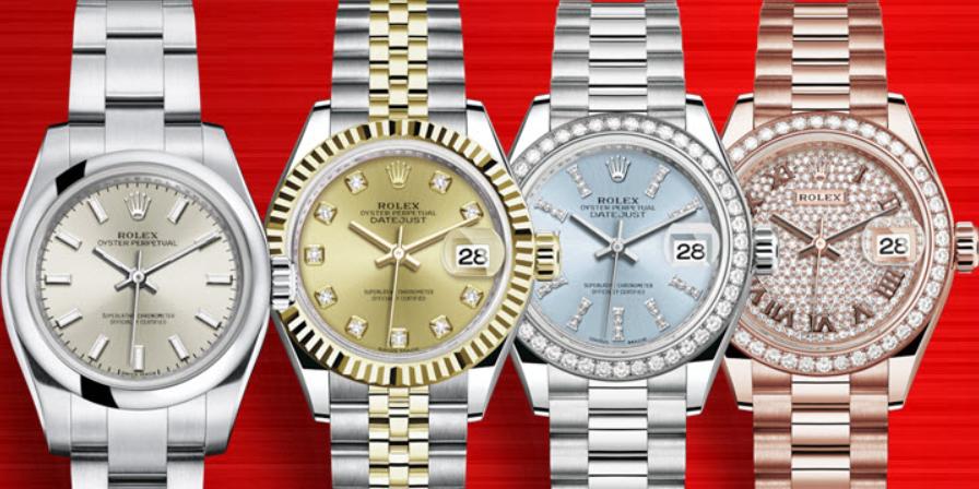 Đồng hồ Rolex nữ kích thước nhỏ