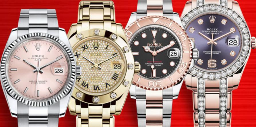 Đồng hồ Rolex nữ mặt lớn