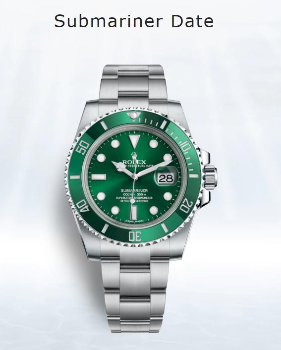 Đồng hồ Rolex Submariner the Hulk 11610LV