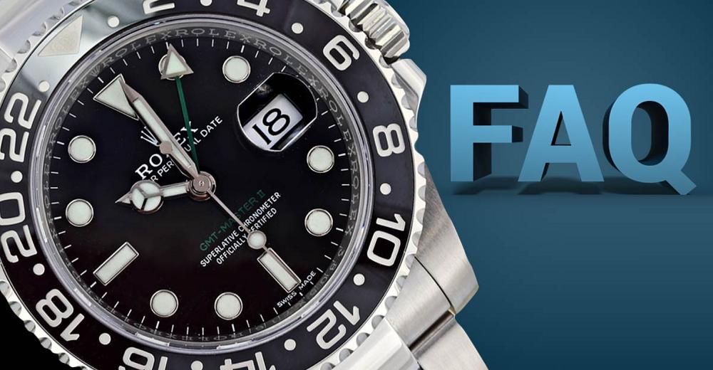 Các câu hỏi thường gặp về đồng hồ Rolex