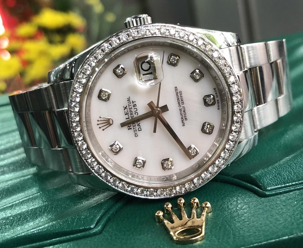 Rolex Datejust Ref.116243 mặt đá niền độ đời 2011