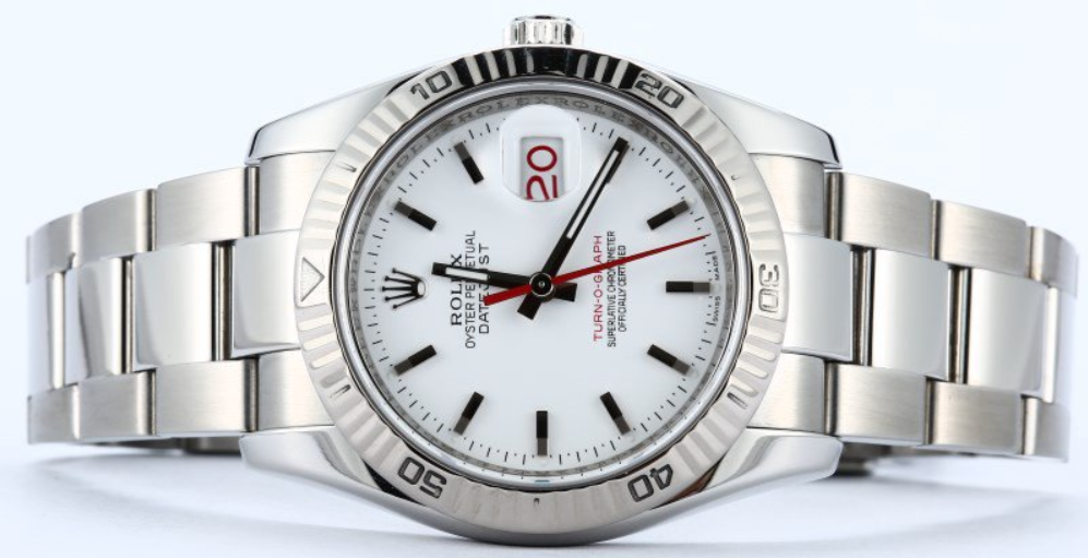 rolex datejust turn-o-graph 116264 day deo oyster