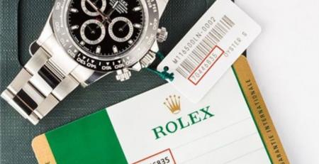 Liệt kê số Serial Numbers và năm sản xuất của Rolex