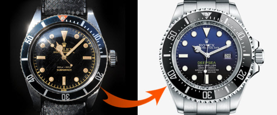 Thay thế Rolex bằng Omega