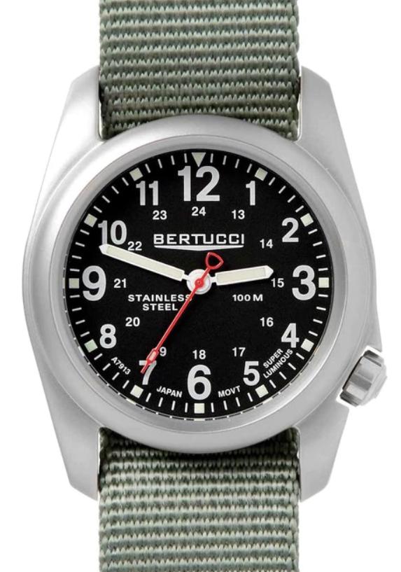 Đồng hồ quân đội Thụy Sĩ Bertucci A-2S