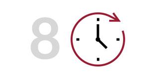 Điều chỉnh tỉ lệ giúp đồng hồ chạy chính xác giờ