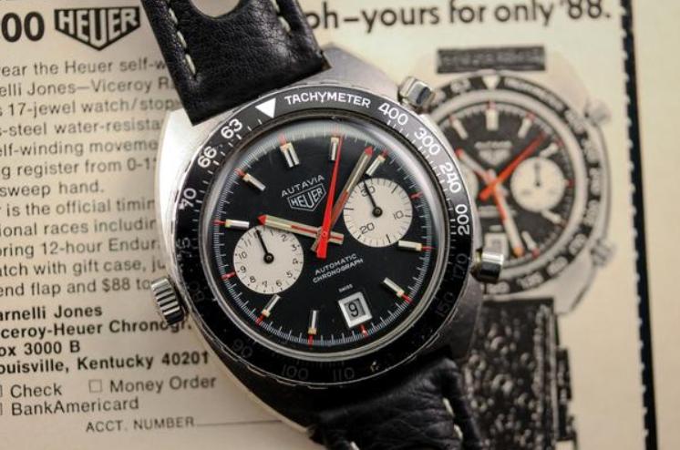 Đồng hồ cổ điển Heuer Autavia Chronograph