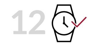 Bàn giao đồng hồ cho khách
