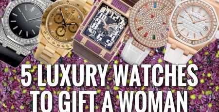 5 chiếc đồng hồ hoàn hảo tặng bạn gái trong ngày valentine