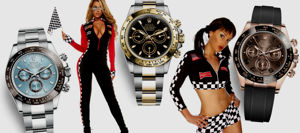 7 lựa chọn đồng hồ Rolex Daytona dựa trên chất liệu