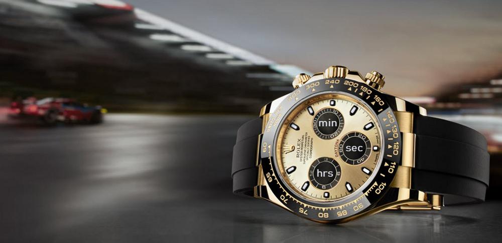 Chức năng mặt số phụ và vòng bezel của Rolex Daytona