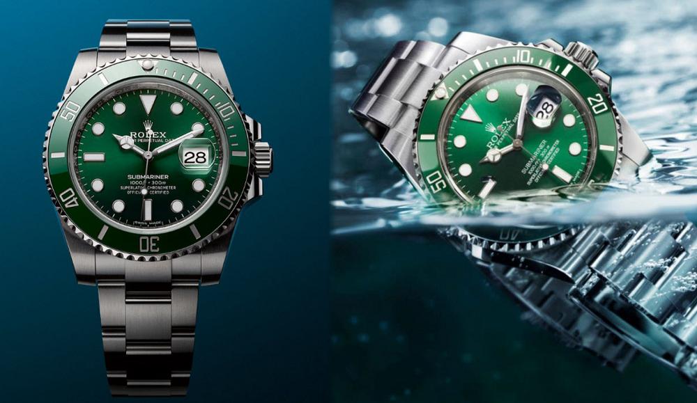 Đồng hồ Rolex Submariner Green