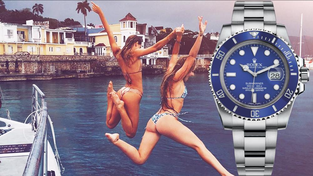Đồng hồ Rolex Submariner Blue