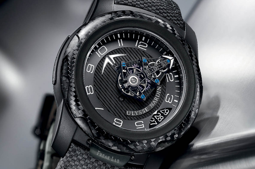 Đồng hồ Ulysse Nardin FreakLab Boutique Edition black titanium carbon fiber