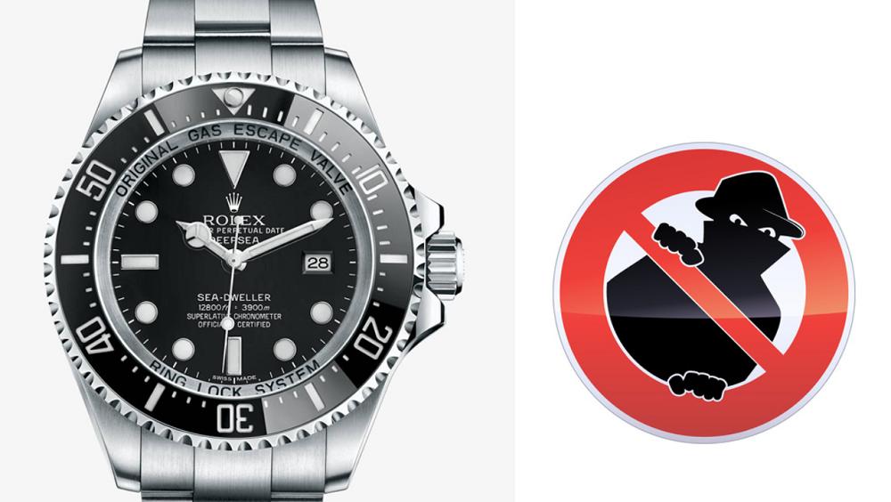 Bảo vệ đồng hồ Rolex của bạn