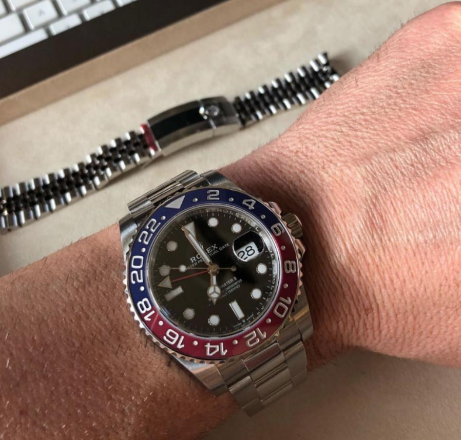 Đồng hồ Rolex GMT-Master II 126710