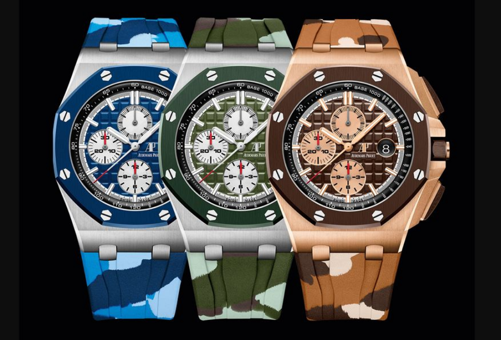 Đồng hồ Royal Oak Offshore Chronograph Camouflage tại SIHH 2019