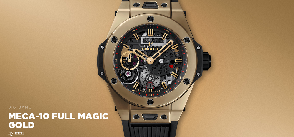 Đồng hồ Hublot Big Bang MECA-10 Magic Gold