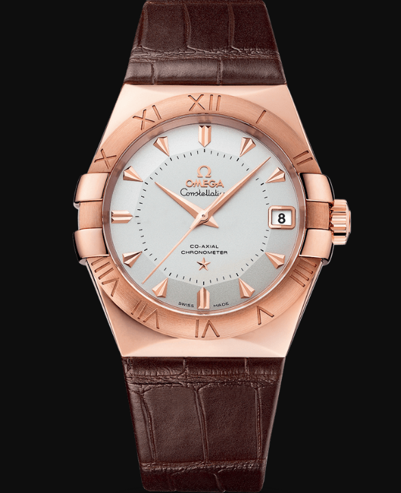 Omega Constellation Co-Axial 38mm Pie Pan