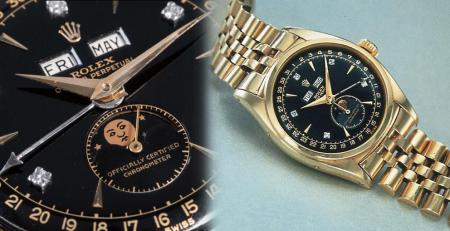Rolex 6062 đồng hồ đeo tay đắt nhất của vua Bảo Đại Việt Nam