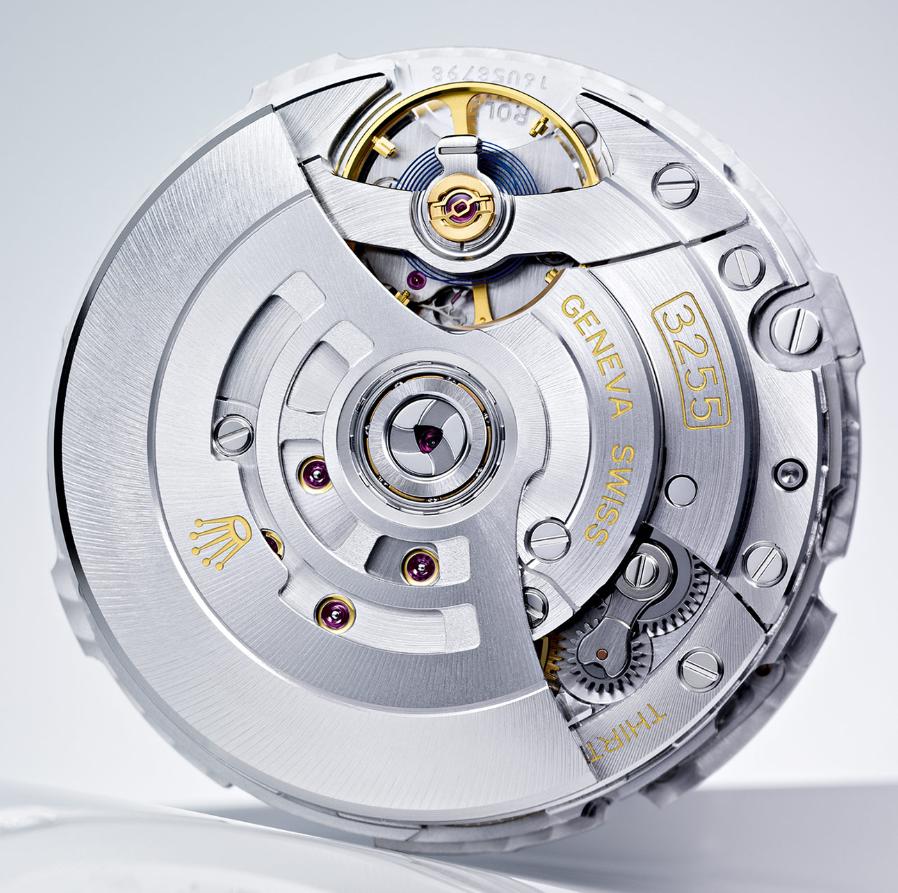 Bộ máy Rolex Calibre 3255