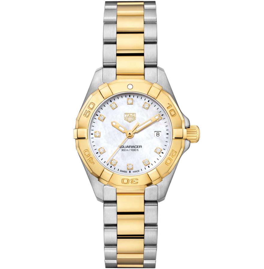 Đồng hồ mạ vàng Tag Aquaracer