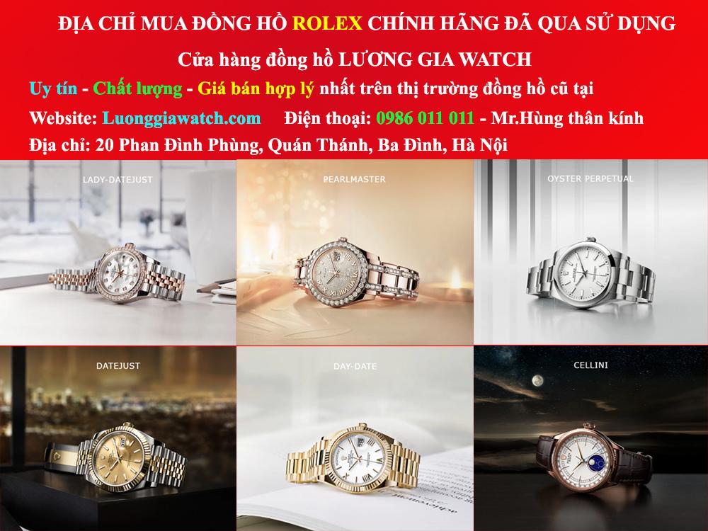Đồng hồ Rolex cũ Lương Gia